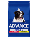 Advance Advance Adult Active Dry Dog Food Chicken 20kg