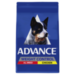Advance Advance Adult All Breed Weight Control Dry Dog Food Chicken 17kg