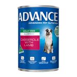 Advance Advance Adult Casserole With Lamb Wet Dog Food Cans 12 x 400g