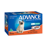Advance Advance Adult Chicken And Liver Medley Wet Cat Food Trays 42 x 85g