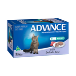Advance Advance Adult Delicate Tuna Wet Cat Food Trays 42 x 85g