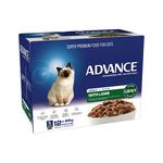 Advance Advance Adult Lamb In Gravy Wet Cat Food Pouches 12 x 85g