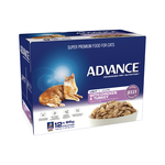 Advance Advance Adult Light Chicken And Turkey In Jelly Wet Cat Food Pouches 12 x 85g