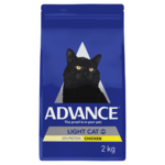 Advance Advance Adult Light Dry Cat Food Chicken 3kg