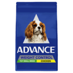 Advance Advance Adult Toy Small Breed Weight Control Dry Dog Food Chicken 13kg