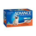 Advance Advance Cat Adult Chicken Liver Medley Trays