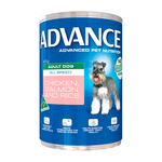 Advance Advance Dog Adult Chicken Salmon Rice Cans 12 x 700g