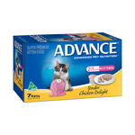 Advance Advance Kitten Tender Chicken Wet Cat Food Trays 42 x 85g