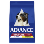 Advance Advance Mature All Breed Dry Dog Food Chicken 15kg