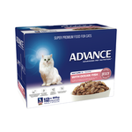 Advance Advance Mature Ocean Fish In Jelly Wet Cat Food Pouches 12 x 85g