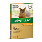 Advantage Advantage Cat Small Orange