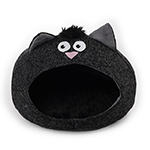 All For Paws Afp Catzilla Meow Cat House Black