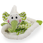All For Paws Afp Little Buddy Blanky Elephant