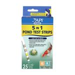 API Api Pond Care Quick Testing Strips 5 In 1