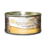 Applaws Applaws Wet Cat Food Chicken Tin 24 x 70g