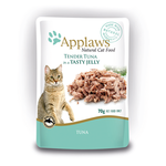 Applaws Applaws Wet Cat Food Tuna Jelly Pouch 16 x 70g