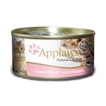 Applaws Applaws Wet Cat Food Tuna Prawn Tin 24 x 70g