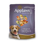 Applaws Applaws Wet Dog Food Chicken Veg In Ginseng Broth 12 x 150g