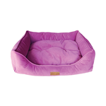Barkley and Bella Barkley And Bella Bed Quattro Velvet Lilac