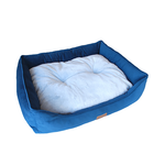 Barkley and Bella Barkley And Bella Bed Quattro Velvet Navy