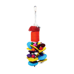 Avian Care Bird Toy Loofah And Rope Style 1