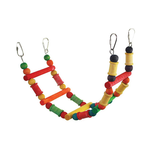 Avian Care Bird Toy Wood And Rope Style 3