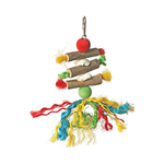 Avian Care Bird Toy Wood And Rope Style 4
