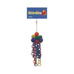Birdie Birdie Jumbo Wicker Ball And Plastic Chain Display