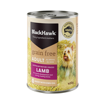 Black Hawk Black Hawk Grain Free Lamb Adult Canned 12 x 400g