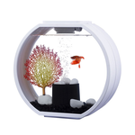 Blue Planet Blue Planet Aquarium Deco O Mini White