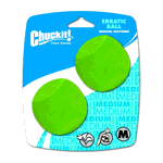 Chuckit Chuckit Erratic Ball 2 Pack