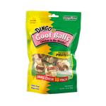 Dingo Dingo Dog Treats Rawhide Goof Balls