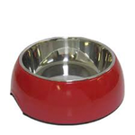 Dogit Dogit 2 In 1 Bowl Red