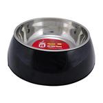 Dogit Dogit 2 In 1 Dog Bowl Black