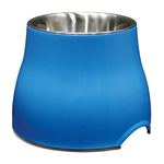 Dogit Dogit 2 In 1 Elevated Dog Dish Blue