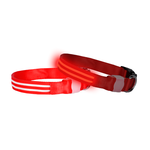 Doglite Doglite Double Trouble Led Collars Red Nite