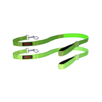 Doglite Doglite Double Trouble Led Leash Green Glow