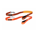 Doglite Doglite Double Trouble Led Leash Orange Sunset
