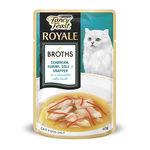 Fancy Feast Fancy Feast Royale Pouch Seabream Surimi Sole And Snapper Broth 12 x 40g