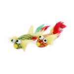 Feline Care Feline Care Cat Toy Fish With Feathers