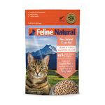 Feline Natural Feline Natural Lamb And Salmon Freeze Dried Cat Food