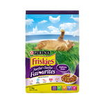 Friskies Friskies Dry Cat Food Adult Surfin Turfin Favourites 2.5kg