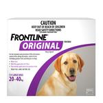Frontline Frontline Original Large Dog Purple