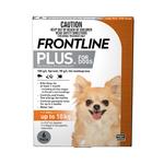 Frontline Frontline Plus Small Dog Orange
