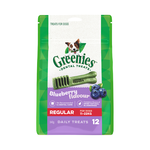 Greenies Greenies Blueberry Flavour Regular Dog Dental Treats 12 Pieces