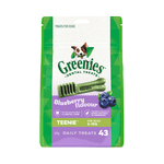 Greenies Greenies Blueberry Flavour Teenie Dog Dental Treats 43 Pieces