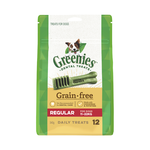 Greenies Greenies Grain Free Regular Dog Dental Treats 12 Pieces