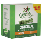 Greenies Greenies Original Petite Dog Dental Treats 60 Pieces