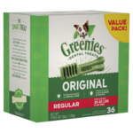 Greenies Greenies Original Regular Dog Dental Treats 36 Pieces