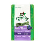 Greenies Greenies Treat Pack Blueberry Large